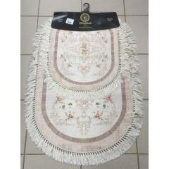 Набор ковриков в ванную комнату Decovilla (18005-2_102-kahve_extra)