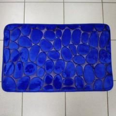 Коврик в ванную комнату камни двухцветные (aquadomer_navy_stan)