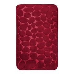 Коврик в ванную комнату камни двухцветные (aquadomer_red_stan)
