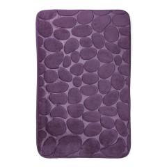 Коврик в ванную комнату камни двухцветные (aquadomer_violet_stan)