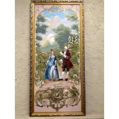 Картина гобелен 0,55x1,15 (golden-age, 01)