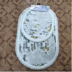 Набор ковриков в ванную комнату Decovilla (guzelsan_01_extra)
