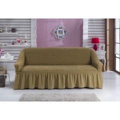 Чехол на диван (темно-бежевый)