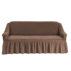 Чехол на диван (светло-коричневый)