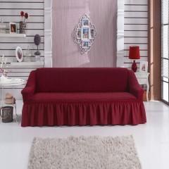 Чехол на диван (бордо)