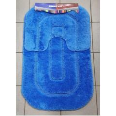 Набор ковриков в ванную комнату Ninoturf (ninoturf_blue_extra)