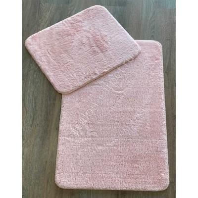 Набор ковриков в ванную комнату из хлопка