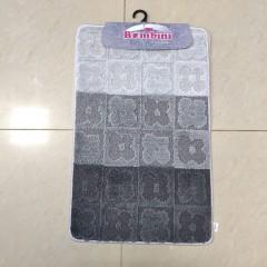 Набор ковриков в ванную комнату Силвер (slv201807_anthracite_extra)