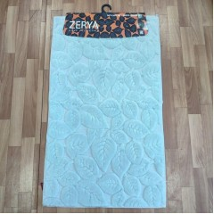 Набор ковриков в ванную комнату из хлопка (zerya_leaf-green_extra)